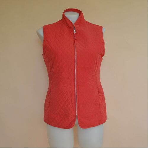 Yarra Trail Orange Zip Up Vest